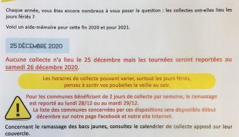 RECONNAISSANCE DE L'ETAT DE CATASTROPHE NATURELLE 2020